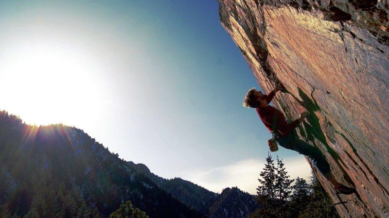 Rock Climbing Photo: Sizing up this beast.
