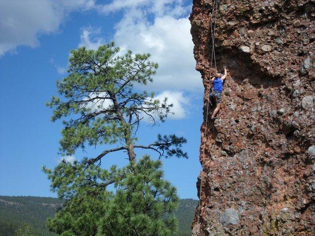 Rock Climbing Photo: Super Arete, El Rito, NM