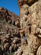 Rock Climbing Photo: The start to this awesome route