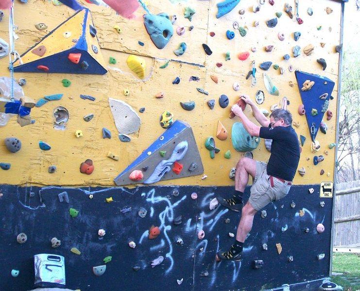 plastic climbing day