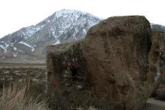 Rock Climbing Photo: Seven Spanish Anglels - V6 Bishop, CA
