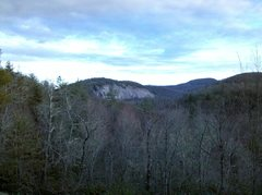 Rock Climbing Photo: Big Green from the overlook above Wilderness Falls