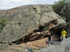 Rock Climbing Photo: Main face of Tree of Life Boulder.
