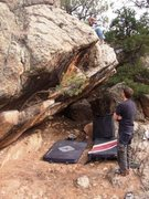 Rock Climbing Photo: Tree of Life Boulder.