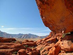 Rock Climbing Photo: Poseidon Adventure.  Big one-move wonder, but fun ...