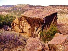 Rock Climbing Photo: Stronger Than Water Boulder.