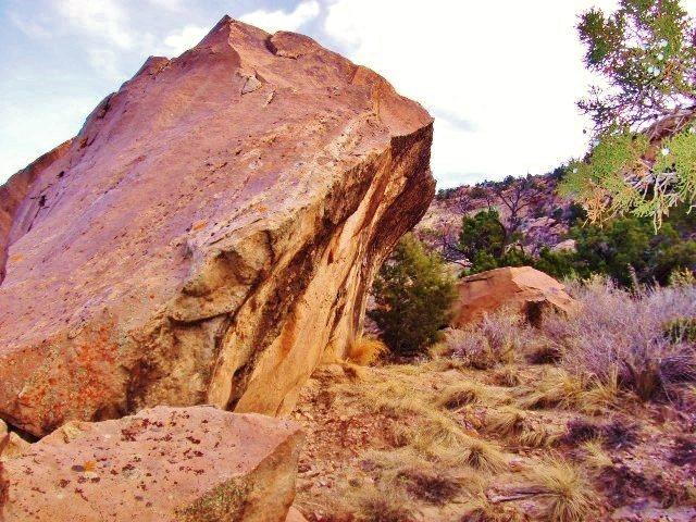 Rock Climbing Photo: Stronger Than Water east face overhang.