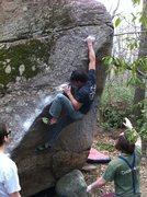 Rock Climbing Photo: its a go