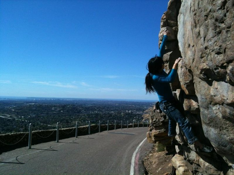 Rock Climbing Photo: Mt Helix