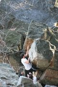 Rock Climbing Photo: naked convulsions: v0