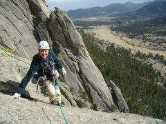 Rock Climbing Photo: Lumpy Ridge with Bill Duncan. March 18th 2012.  Co...