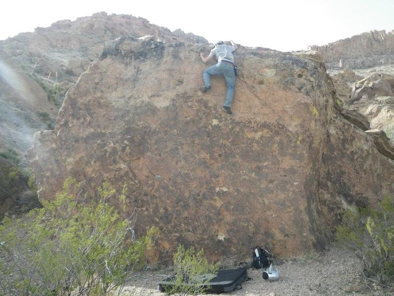 Rock Climbing Photo: jewel boulder
