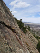 Rock Climbing Photo: Looking north.