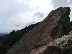 Rock Climbing Photo: Summit of First and Third.