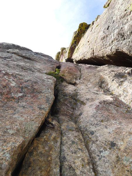 Rock Climbing Photo: Pin.