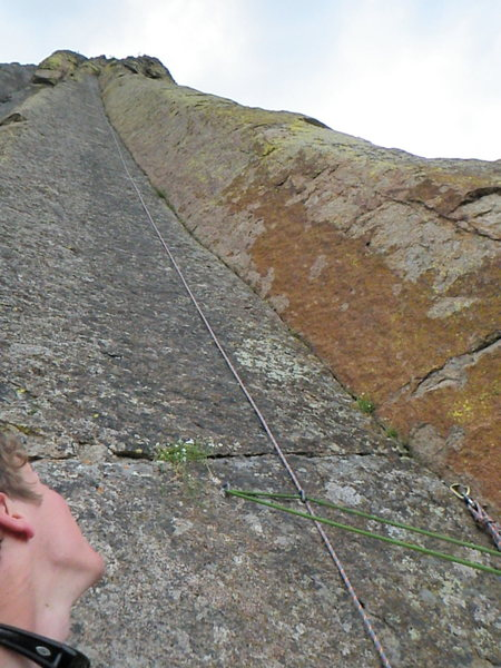 Rock Climbing Photo: 165 feet of beautiful corner with some of the pure...