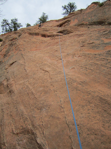Rock Climbing Photo: A look at the route.