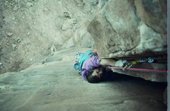 Rock Climbing Photo: Steve Morris on Primrose Dihedrals on Moses Tower ...
