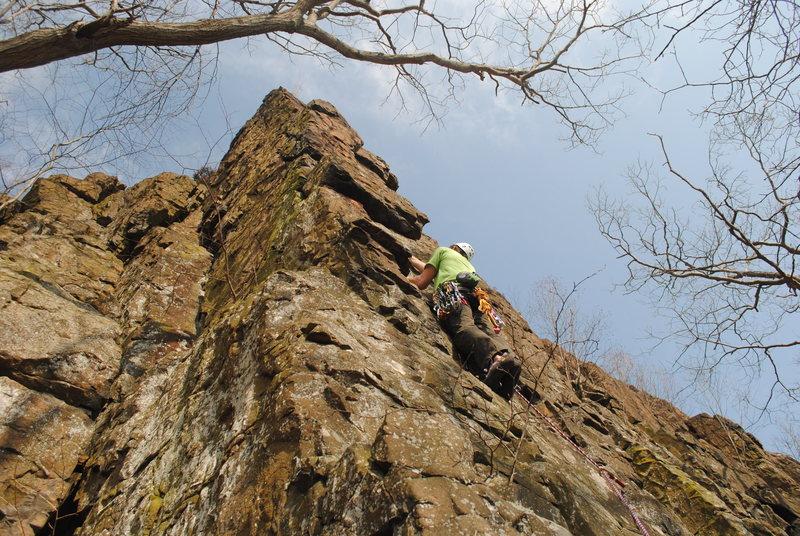 Rock Climbing Photo: Arete climb
