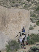 Rock Climbing Photo: Get Carter Boulder