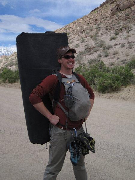 Rock Climbing Photo: Captain Poopy Pants!