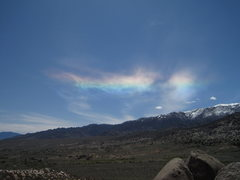 Rock Climbing Photo: Ice crystals over the high sierra