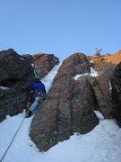 Rock Climbing Photo: Flatiron Ice