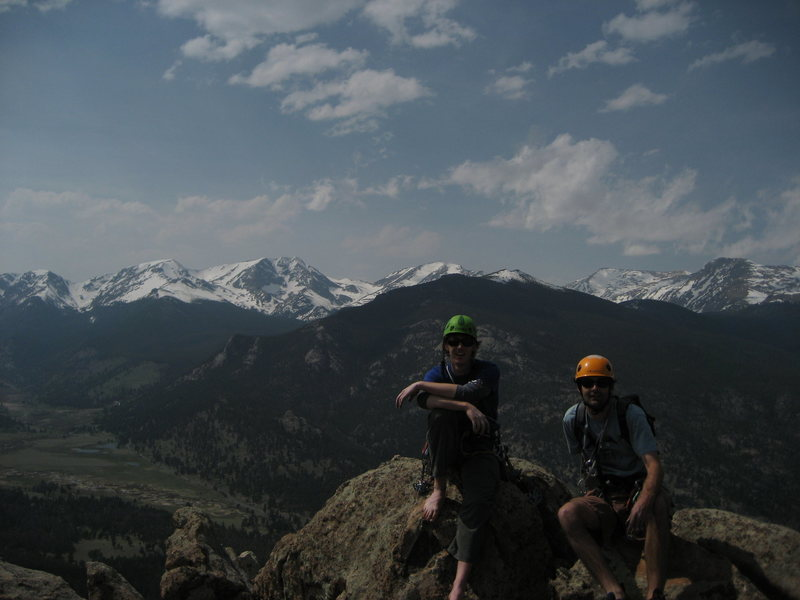 on top of Deer Ridge, estes park