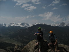 Rock Climbing Photo: on top of Deer Ridge, estes park