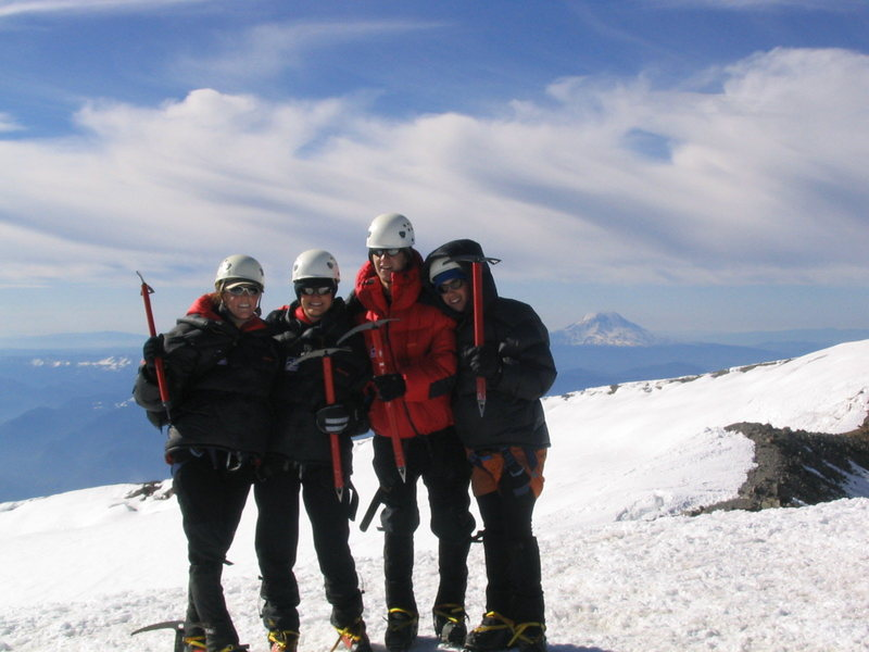 Rock Climbing Photo: Mt Rainier, 2007