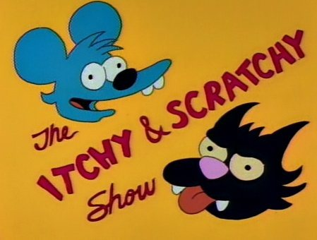 A little itchy and scratchy