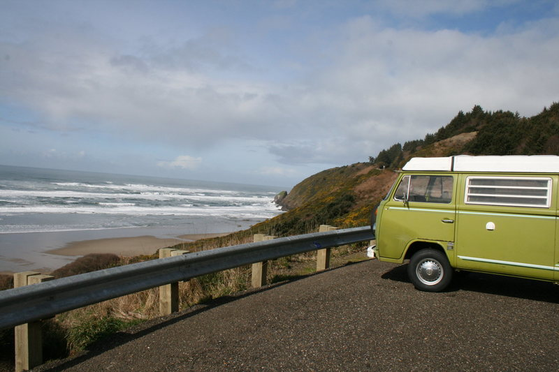 The Oregon Coast<br> <br> <br> -Hank the Climbing Bus-