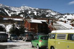 Rock Climbing Photo: @ Jackson Hole Mountain Resort   -Hank the Climbin...