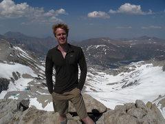 Rock Climbing Photo: Mah Hurr got a little crazy on Mt. Conness climbin...
