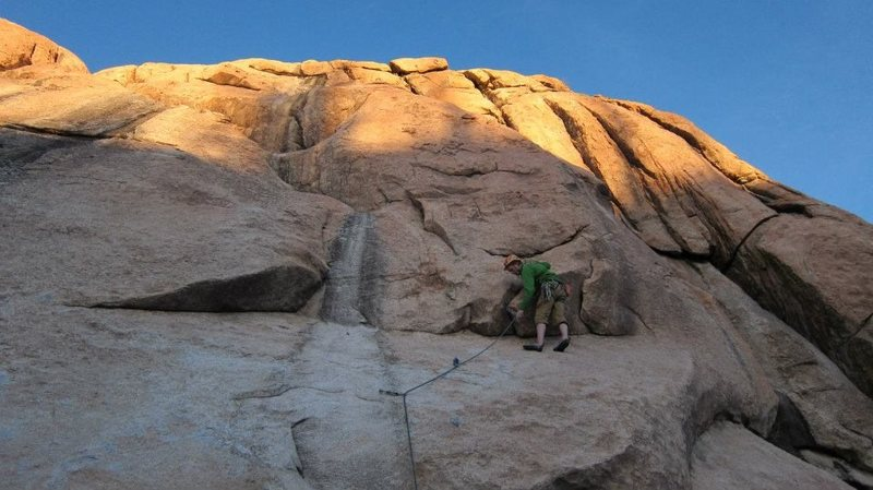 Rock Climbing Photo: Thunder ridge! quarry wall at the end of the day.....