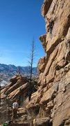 Rock Climbing Photo: more Thunder Ridge goodness; Alligator Lounge Feb....