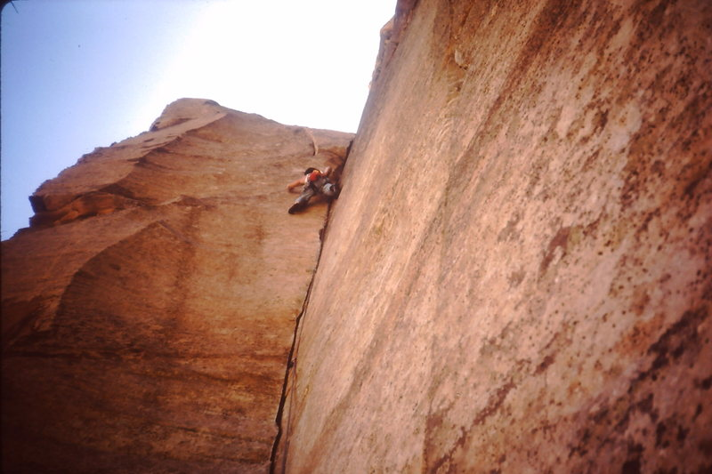 Something cool in the sheep skull crags in mid 1980s