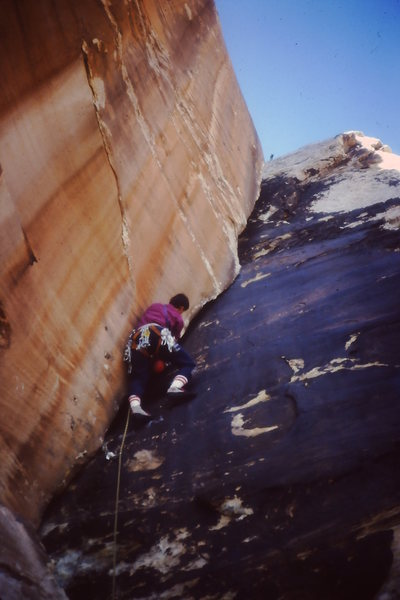 Rock Climbing Photo: Another cool route in the Sheep skull crags climbi...