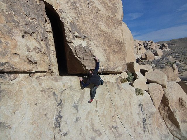 Rock Climbing Photo: Favorite move.