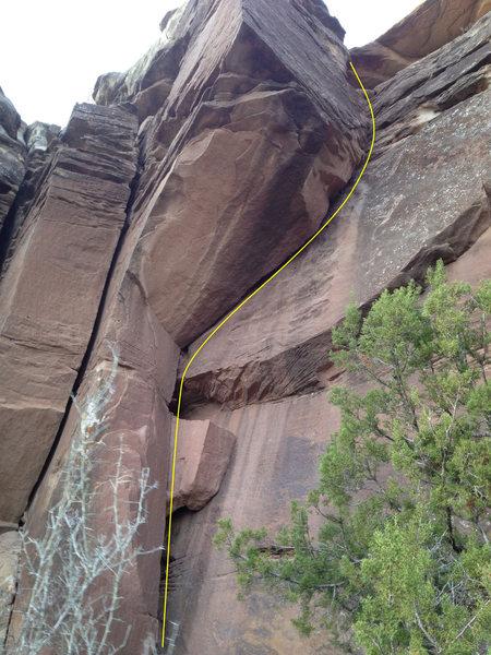 Rock Climbing Photo: Smoke Signals