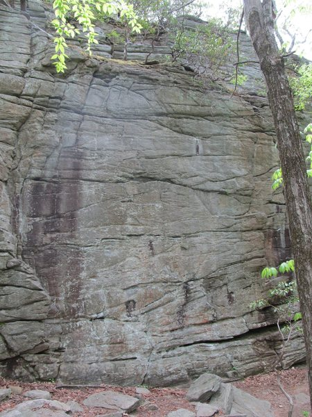 Jungle Face and Gneiss Face in the middle, with Clark Bar Crack and P&H on the right.