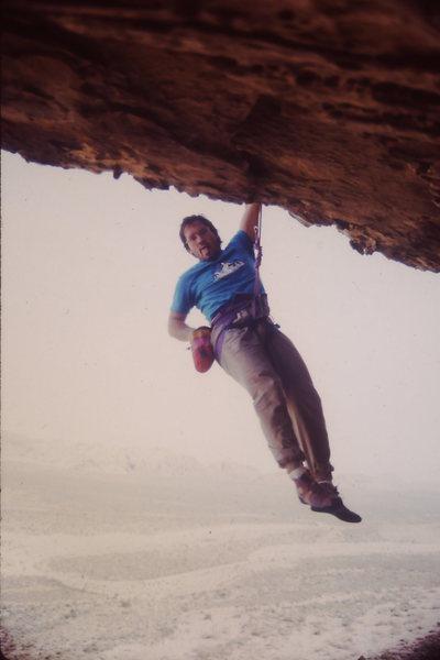 Rock Climbing Photo: Monster jug at the lip