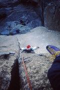Rock Climbing Photo: Bird of fire Christmas day 1985