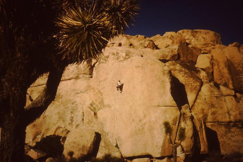 Rock Climbing Photo: R.M.L. smearing