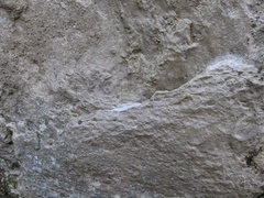 Rock Climbing Photo: Starting rail and the low left heel chunk on &quot...