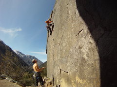 Rock Climbing Photo: Leavenworth - Castle Rock