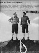 Rock Climbing Photo: Vintage Drummond sweater ad.