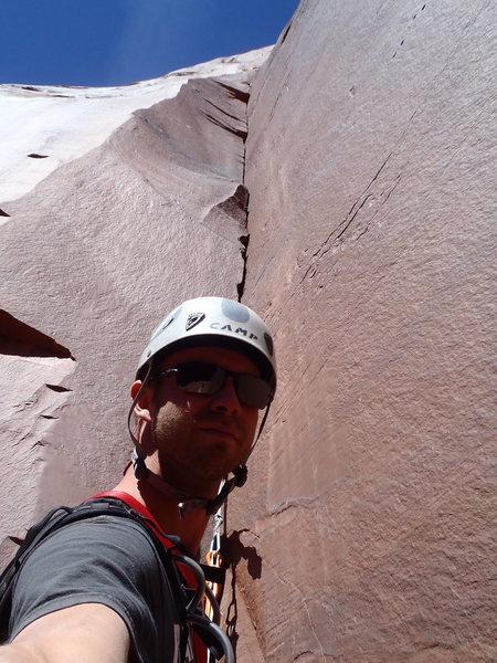 Rock Climbing Photo: P3 Awaiting an FA