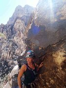 Rock Climbing Photo: Lower Solar Slab