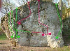 Rock Climbing Photo: Frathouse Rock
